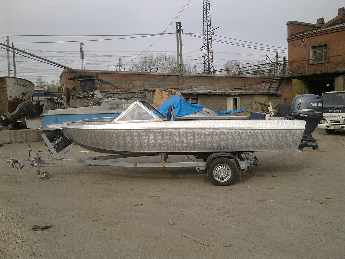 купить алюминиевую лодку водомет в